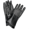 NORTH Butyl Chemical Protection Gloves - Chemical Protection - 8 Size Number - Butyl - Black - Water Resistant, Durable, Chemical Resistant, Ketone Resistant, Rolled Beaded Cuff, Comfortable, Abrasion