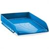 """CEP Letter Tray - 450 x Sheet - 2.5"""" Height x 10.2"""" Width x 13.7"""" Depth - Desktop - Ocean Blue - Polystyrene - 1Each"""