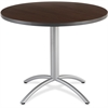"Iceberg CafeWorks Cafe Table - Round Top - 1.13"" Table Top Thickness x 42"" Table Top Diameter - 29"" Height - Assembly Required"