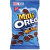 Oreo Mini Chocolate Sandwich Cookies - Vanilla - 3 - 12 / Carton