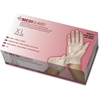 Medline MediGuard Vinyl Non-sterile Exam Gloves - X-Large Size - Vinyl - Clear - Powder-free, Ambidextrous, Latex-free, Durable, Beaded Cuff - For Multipurpose, Laboratory Application - 150 / Box