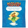 Office Snax Kauai Medium Roast Coffee - Caffeinated - Hawaiian Blend - Medium - 2.3 oz - 24 Packet - 24 / Carton