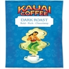 Office Snax Kauai Dark Roast Coffee - Caffeinated - Hawaiian Blend - Dark - 2.3 oz - 24 Packet - 24 / Carton