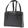 "Samsonite Heathered Carrying Case (Briefcase) for 15.6"" Notebook - Gray - Shock Resistant Interior, Scratch Resistant Interior - Debossed logo - Shoulder Strap, Handle - 12"" Height x 16.5"" Width x 3.5"