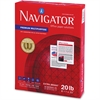 "Navigator Copy & Multipurpose Paper - Letter - 8.50"" x 11"" - 20 lb Basis Weight - 97 Brightness - 200000 / Pallet - White"