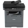 Brother DCP-L5500DN Laser Multifunction Printer - Monochrome - Plain Paper Print - Desktop - Copier/Printer/Scanner - 40 ppm Mono Print - 600 x 2400 dpi Print - 1 x Automatic Document Feeder 40 Sheet,