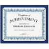 Geographics Certificate Holder - 10 / Pack - Navy