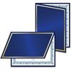 Geographics Felt Certificate Holder - 5 / Pack - Navy, Navy Blue