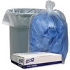 """Genuine Joe Clear Low Density 1.1mil Liners - 40"""" Width x 46"""" Length - 1.10 mil (28 Micron) Thickness - Low Density - 100/Carton - Clear"""