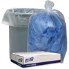 "Genuine Joe Clear Low Density Liners - 38"" Width x 58"" Length - 1.75 mil (44 Micron) Thickness - Low Density - 100/Carton - Clear"