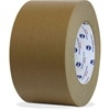 "ipg Medium Grade Flatback Tape - 3"" Width x 60 yd Length - Synthetic Rubber Backing - 16 / Carton - Brown"