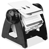 Lorell Refillable Rotary Card File - 250 Card - Black