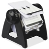 Lorell Metal Rotary Card File - 250 Card - Black