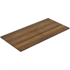 "Lorell Chateau Walnut 8' Rectangular Conference Tabletop - 94.5"" x 47.3"" x 1.4"" - Reeded Edge - Material: P2 Particleboard - Finish: Walnut Laminate"