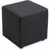 "Lorell Fabric Cube Chair - Plywood18"" x 18"" x 18"""