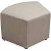 "Lorell Fabric Quad Chair - Plywood16.8"" x 16.8"" x 18"""