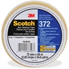 "Scotch Box-Sealing Tape 372 - 2.83"" Width x 54.68 yd Length - 3"" Core - Rubber Resin - Polypropylene Backing - Long Lasting, Heavy Duty, Durable, Pressure Sensitive - 24 / Carton - Clear"
