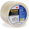 "Scotch 373 Box Sealing Tape - 2.83"" Width x 54.68 yd Length - 3"" Core - Synthetic Rubber - Polypropylene Backing - Long Lasting, Heavy Duty, Durable, Pressure Sensitive - 24 / Carton - Clear"
