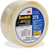 "Scotch Box-Sealing Tape - 1.89"" Width x 54.68 yd Length - 3"" Core - Rubber Resin - Polypropylene Backing - Long Lasting, Heavy Duty, Durable, Pressure Sensitive - 36 / Carton - Clear"