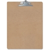 OIC Wood Clipboard - Spring Clip - Hardwood - Brown