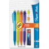 Quick Flip Mechanical Pencils - #2 Lead Degree (Hardness) - 0.7 mm Lead Diameter - Refillable - 4 / Pack