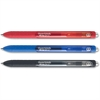 Paper Mate InkJoy Gel Retractable Pen - 0.7 mm Point Size - Black, Blue, Red Gel-based Ink - Black, Blue, Red Barrel - 3 / Pack
