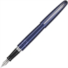 Pilot MR Animal Collection Fountain Pen - Fine Point Type - Refillable - Black - Plum Brass, Stainless Steel Barrel - 1 / Each