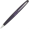 Pilot MR Animal Collection Ballpoint Pen - Medium Point Type - 1 mm Point Size - Refillable - Black - Plum Brass, Stainless Steel Barrel - 1 / Each