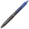 Uni-Ball 307 .5MM Gel Pens - Micro Point Type - 0.5 mm Point Size - Blue Gel-based Ink - Black, Blue Barrel - 1 Each