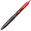 Uni-Ball 307 .5MM Gel Pens - Micro Point Type - 0.5 mm Point Size - Red Gel-based Ink - Black, Red Barrel - 1 Each