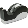 "Sparco Tape Dispenser - 3"" Core - Refillable - Slip Resistant - Stainless Steel Blade - Black"