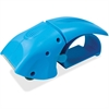 Sparco Packaging Tape Dispenser - Refillable - Ergonomic Design, Serrated Blade - Blue