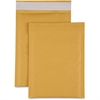 "Sparco Size 1 Bubble Cushioned Mailers - Bubble - #1 - 7.50"" Width x 12"" Length - Self-sealing - Kraft - 100 / Carton - Kraft"