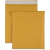 "Sparco Size 2 Bubble Cushioned Mailers - Bubble - #2 - 8.50"" Width x 12"" Length - Self-sealing - Kraft - 100 / Carton - Kraft"