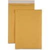 "Sparco Size 3 Bubble Cushioned Mailers - Bubble - #3 - 8.50"" Width x 14.50"" Length - Self-sealing - Kraft - 100 / Carton - Kraft"