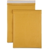 "Sparco Size 5 Bubble Cushioned Mailers - Bubble - #5 - 10.50"" Width x 16"" Length - Self-sealing - Kraft - 100 / Carton - Kraft"