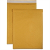 "Sparco Size 6 Bubble Cushioned Mailers - Bubble - #6 - 12.50"" Width x 19"" Length - Self-sealing - Kraft - 50 / Carton - Kraft"