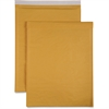 "Sparco Size 7 Bubble Cushioned Mailers - Bubble - #7 - 14.25"" Width x 20"" Length - Self-sealing - Kraft - 50 / Carton - Kraft"