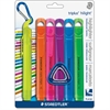 Staedtler Triplus Broad Tip Fluoresct Highlighter - Broad Point Type - Chisel Point Style - Assorted - 6 / Pack