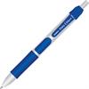 Zebra Pen Orbitz Retractable Ballpoint Pens - Bold Point Type - 1.6 mm Point Size - Refillable - Blue Gel-based Ink - Blue Plastic Barrel - 1 Dozen