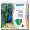 Staedtler Tradition Colour Pencil Set - 2.9 mm Lead Diameter - Assorted Lead - Wood Barrel - 48 / Set