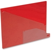 "Pendaflex Poly End Tab Out Guides - Letter - 8.50"" Width x 11"" Length - Red Polypropylene Divider - Red Polypropylene Tab - 25 / Box"