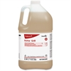 Diversey Suma Oven/Grill Cleaner - Liquid Solution - 1 gal (128 fl oz) - 1 Each - Brown