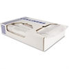 "Heritage SuperHeavy Linear Low Density Can Liners - 47"" Width x 43"" Length - Low Density - Clear - Linear Low-Density Polyethylene (LLDPE) - 100/Carton - Can"