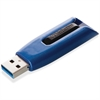 Verbatim 256GB Store 'n' Go V3 MAX USB 3.0 Flash Drive - TAA Compliant - 256 GBUSB 3.0 - Blue, Black""