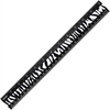"Westcott 12"" Zebra Print Ruler - 12"" Length - Imperial, Metric Measuring System - 1 Each - Black, White"