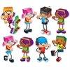 "Trend Blockstar Classic Accent Set - Fun Theme/Subject - 18 Children - Precut, Durable, Reusable - 5.50"" Height - Multicolor - 48 / Pack"