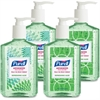 Purell Advanced Design Series Hand Sanitizer with Aloe - 8 fl oz (236.6 mL) - Kill Germs - Hand - Clear, Green - Non-sticky, Residue-free, Moisturizing, Hypoallergenic - 4 / Box