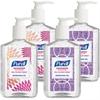 Purell Advanced Hand Sanitizer Refreshing Gel - 8 fl oz (236.6 mL) - Pump Bottle Dispenser - Kill Germs - Hand - Clear - Moisturizing - 4 / Box