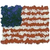 Hygloss American Flag Tissue Craft Kit - 30 Piece(s) - 1 Pack - Assorted